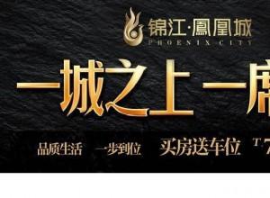 锦江·凤凰城 | 全优配套,高性价比之选